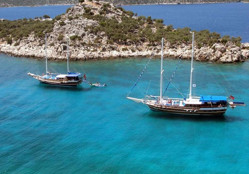 Single Reis Blue Cruise Lycische Kust